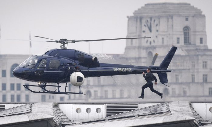 Tom Cruise opäť na natáčaní Mission Impossible 6