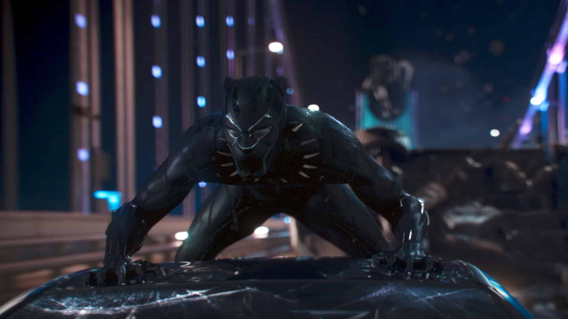 Čierny Panter sa predstavuje vo vlastnom filme