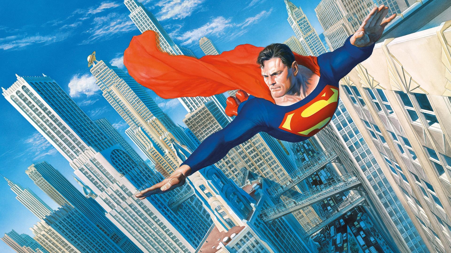 Superman v meste MetropolisSuperman v meste Metropolis