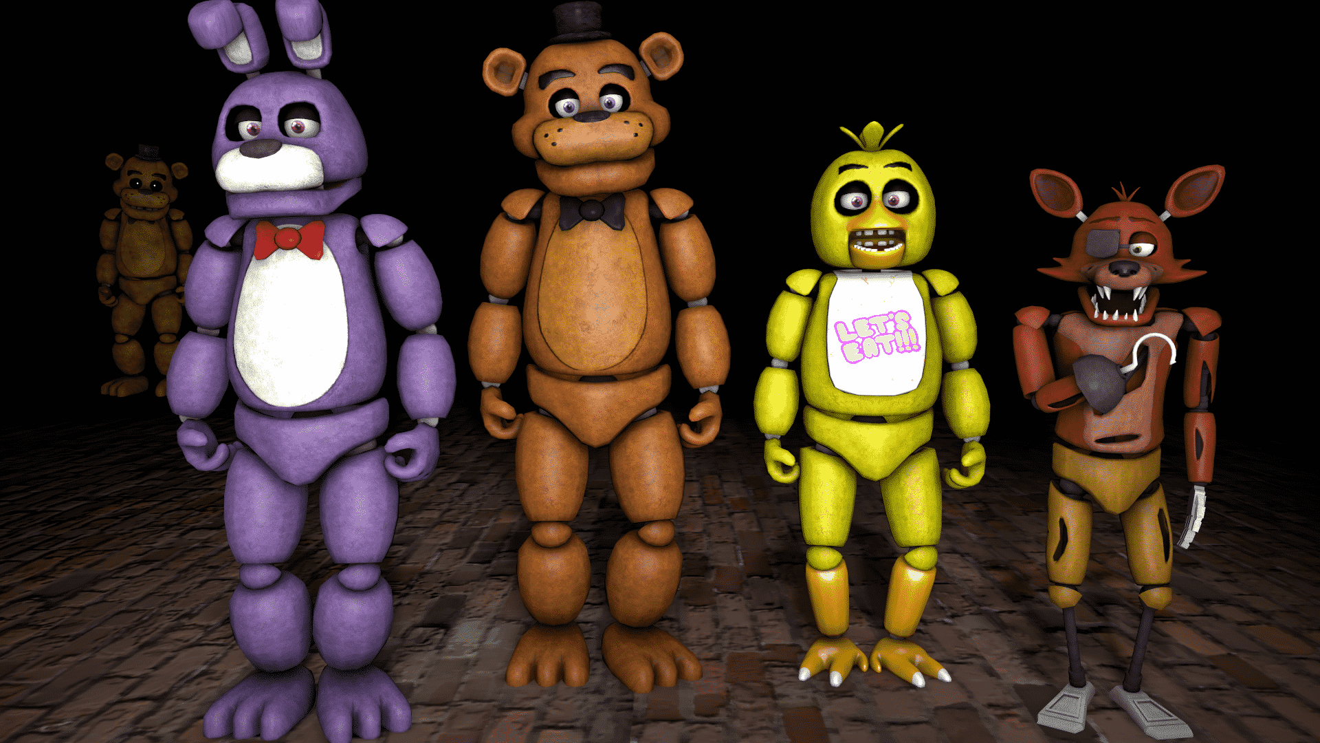 horor Five Nights at Freddy's
