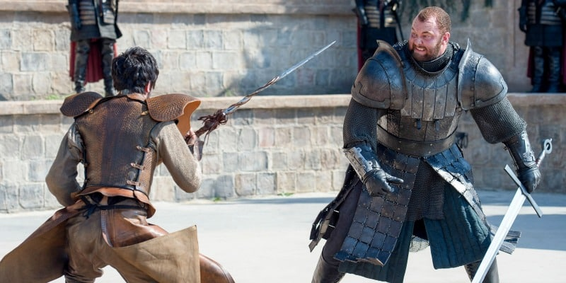 Les Aides de Jeux The-mountain-gregor-clegane-the-viper-oberyn-martell-trial-by-combat-season-four-game-of-thrones-