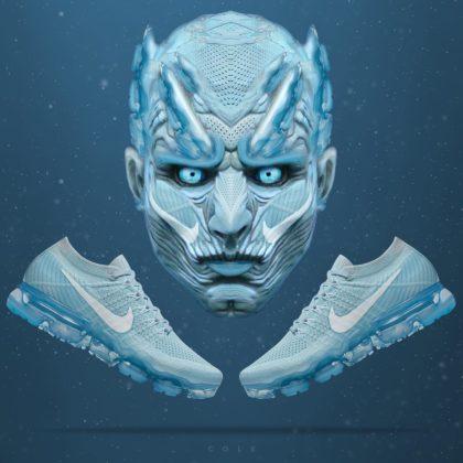 Nike Vapormax Glacier Blue ako Night King