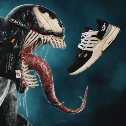 Nike x Off-White Presto ako Venom
