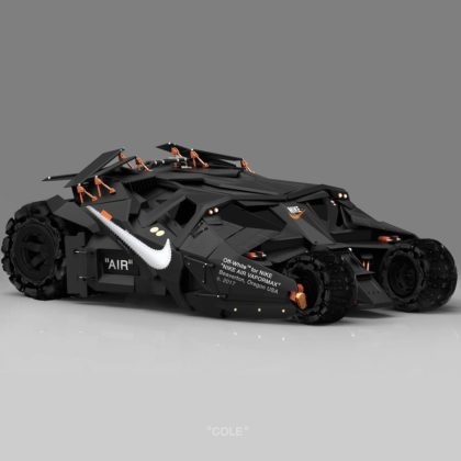 Kolaborácia Nike a Off-White ako Batmobile