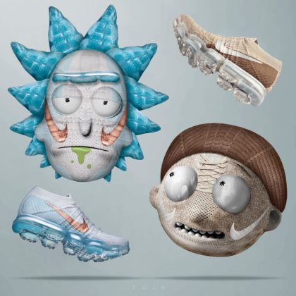 Nike Vapormax Explorer Light a Khaki ako Rick a Morty