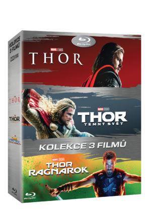 Blu-Ray kolekcia všetkých troch Thor filmov
