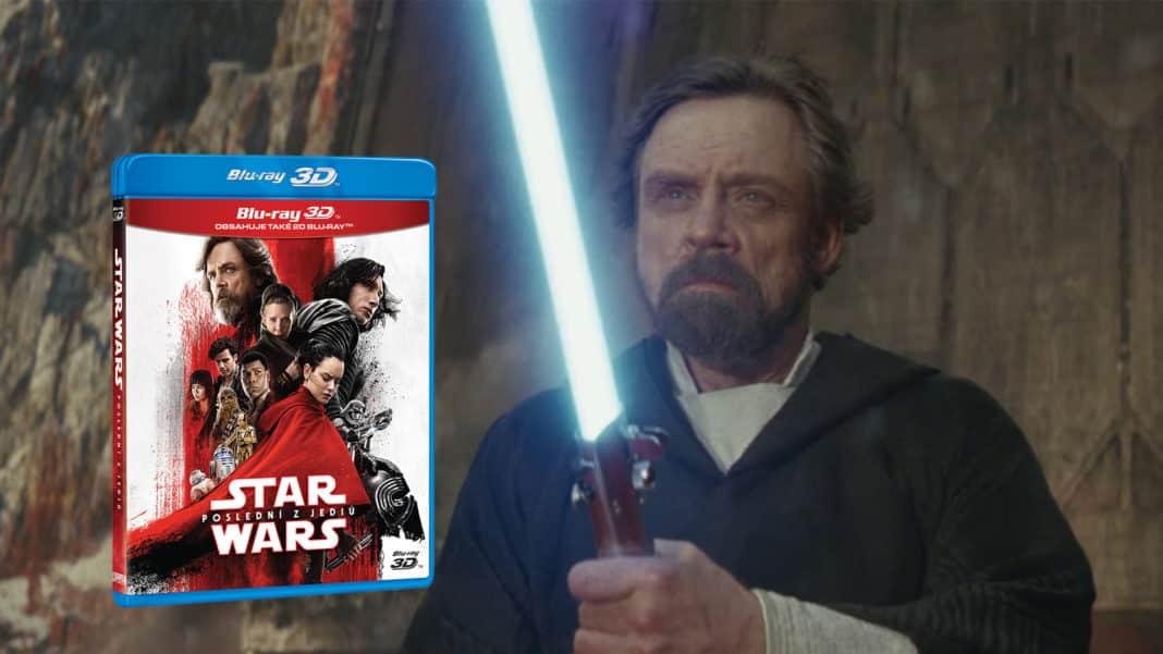 star wars: poslední jediovia blu-ray;