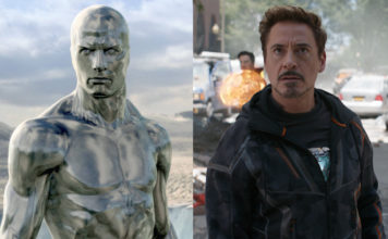 silver surfer bude v avengers: infinity war