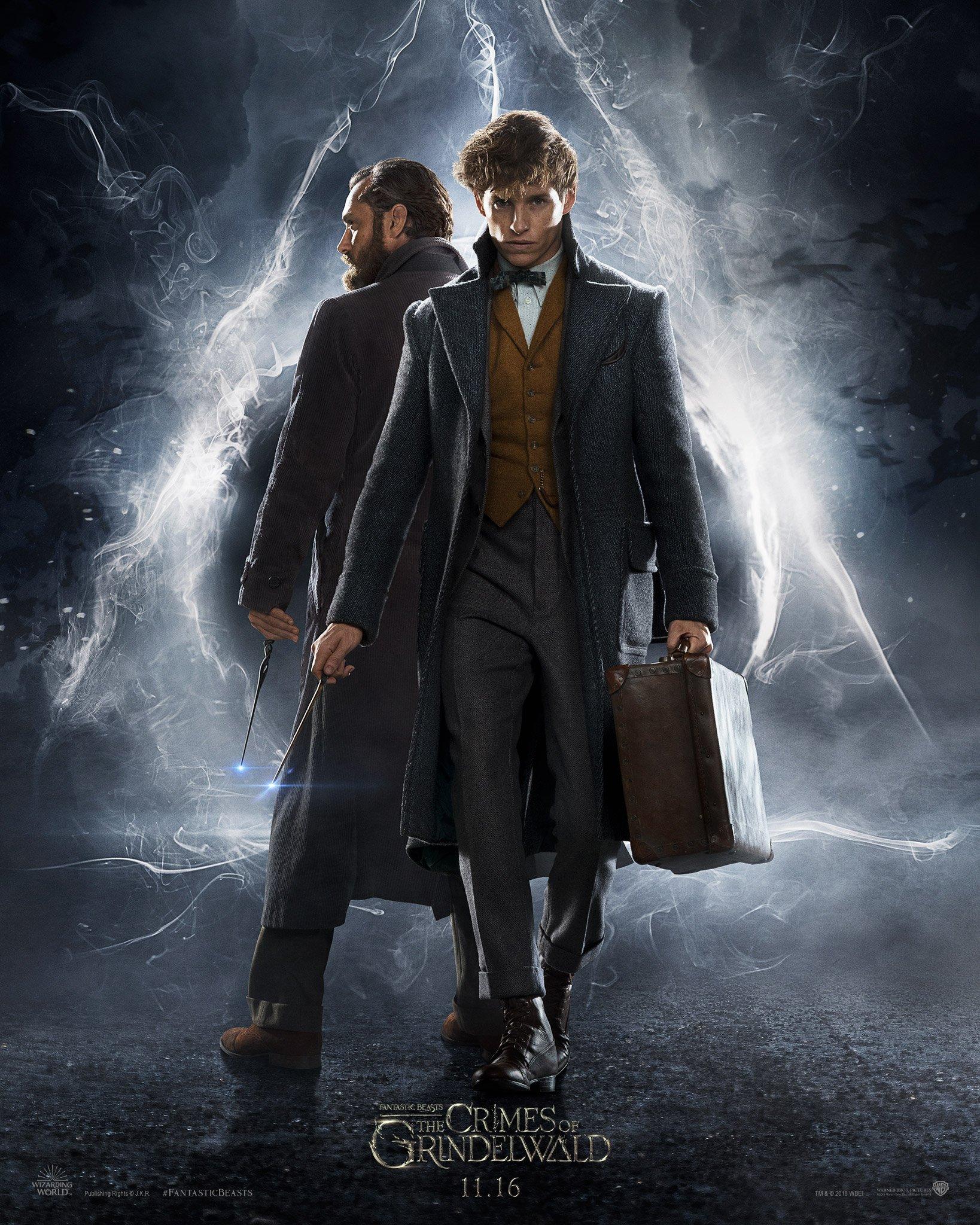 Prvý plagát na Fantastic Beasts: The Crimes of Grindelwald