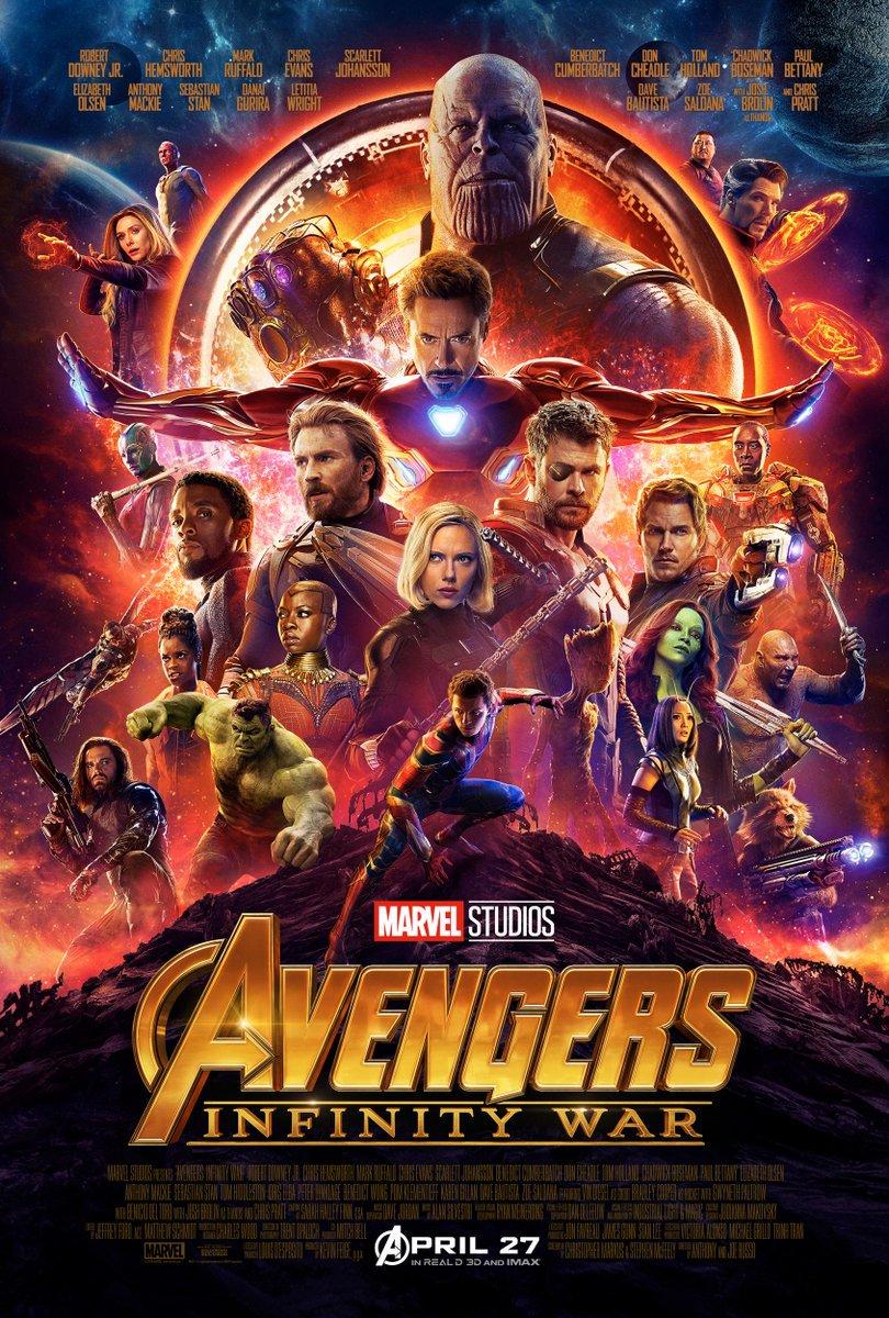 Oficiálny plagát na 19-tu Marvelovku, Avengers: Infinity War