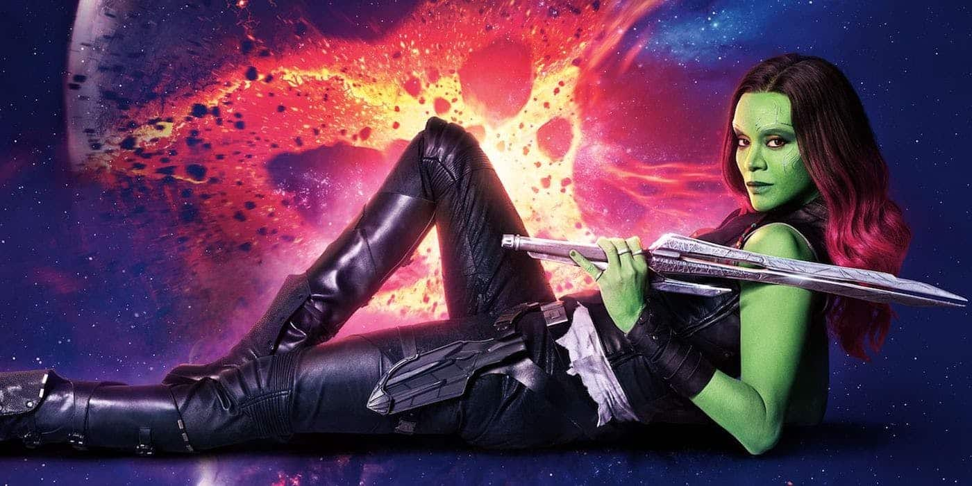 Gamora na konci Avengers: Endgame