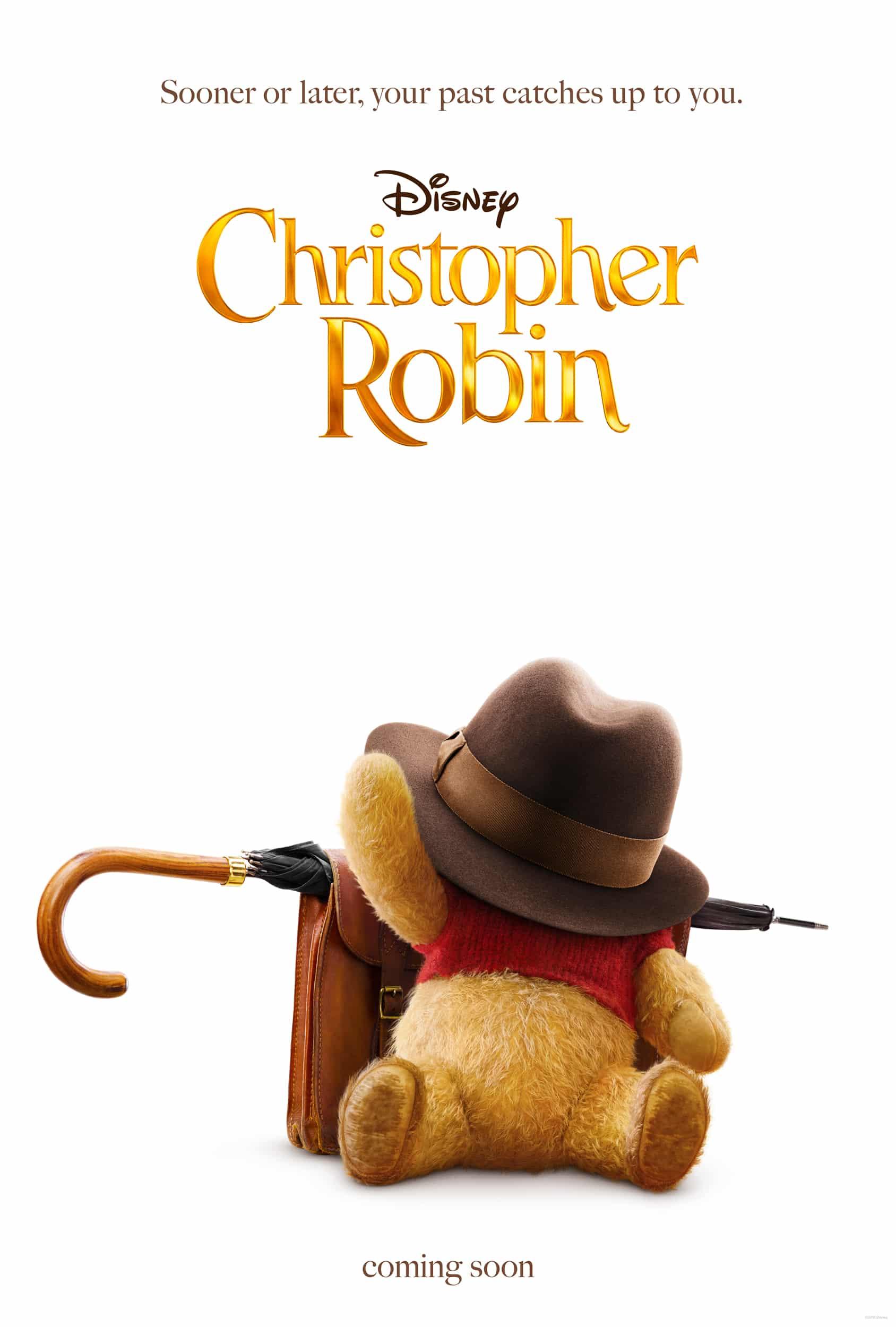 Oficiálny teaser plagát na hranú Disneyovku, Christopher Robin
