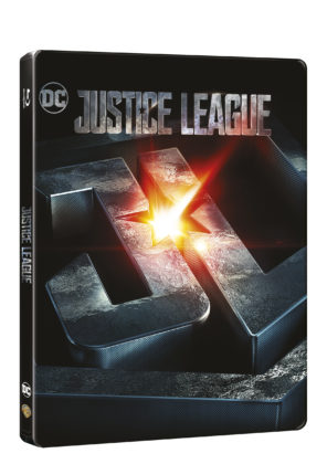 Justice League na Blu-Ray 3D+2D - Steelbook