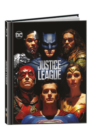 Justice League na Blu-Ray 3D+2D - Digibook