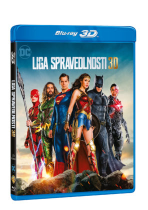 Justice League na Blu-Ray 3D+2D