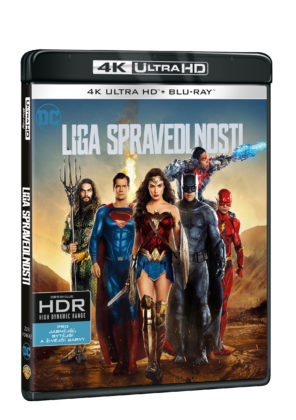 Justice League na 4K UHD Blu-Ray
