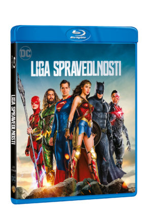 Justice League na Blu-Ray
