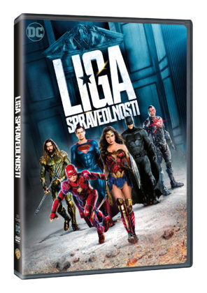 Justice League na DVD