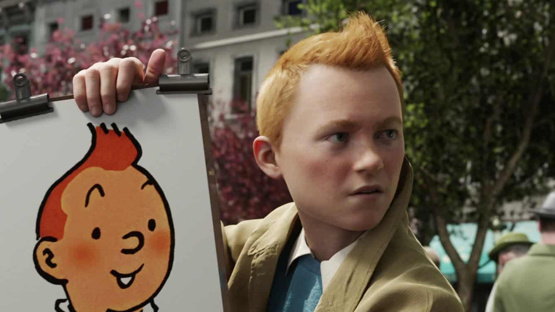 Digitálny Tintin a jeho animovaná predloha