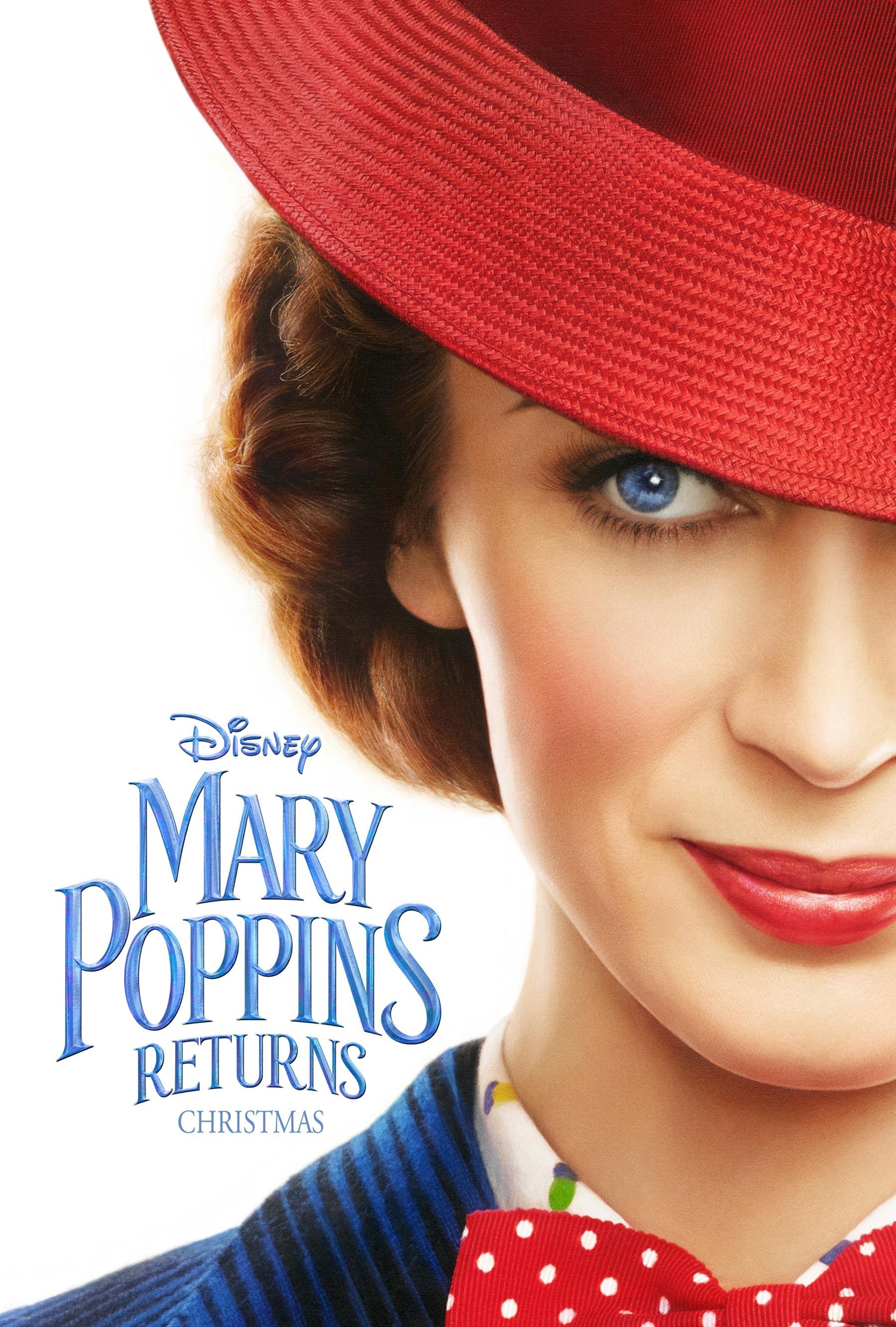 Oficiálny teaser plagát na film Mary Poppins Returns