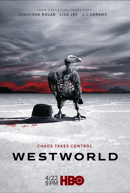 Oficiálny plagát na druhú sériu seriálu Westworld!