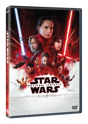 Star Wars: Poslední Jediovia na DVD