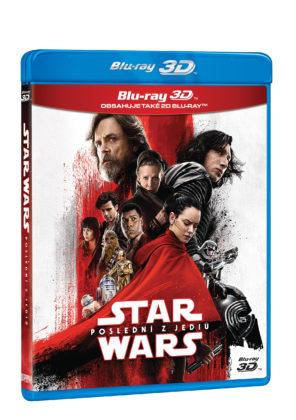 Star Wars: Poslední Jediovia na 3D+2x2D Blu-Ray