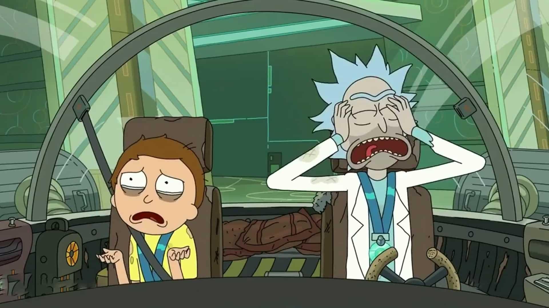 koniec Ricka a Mortyho