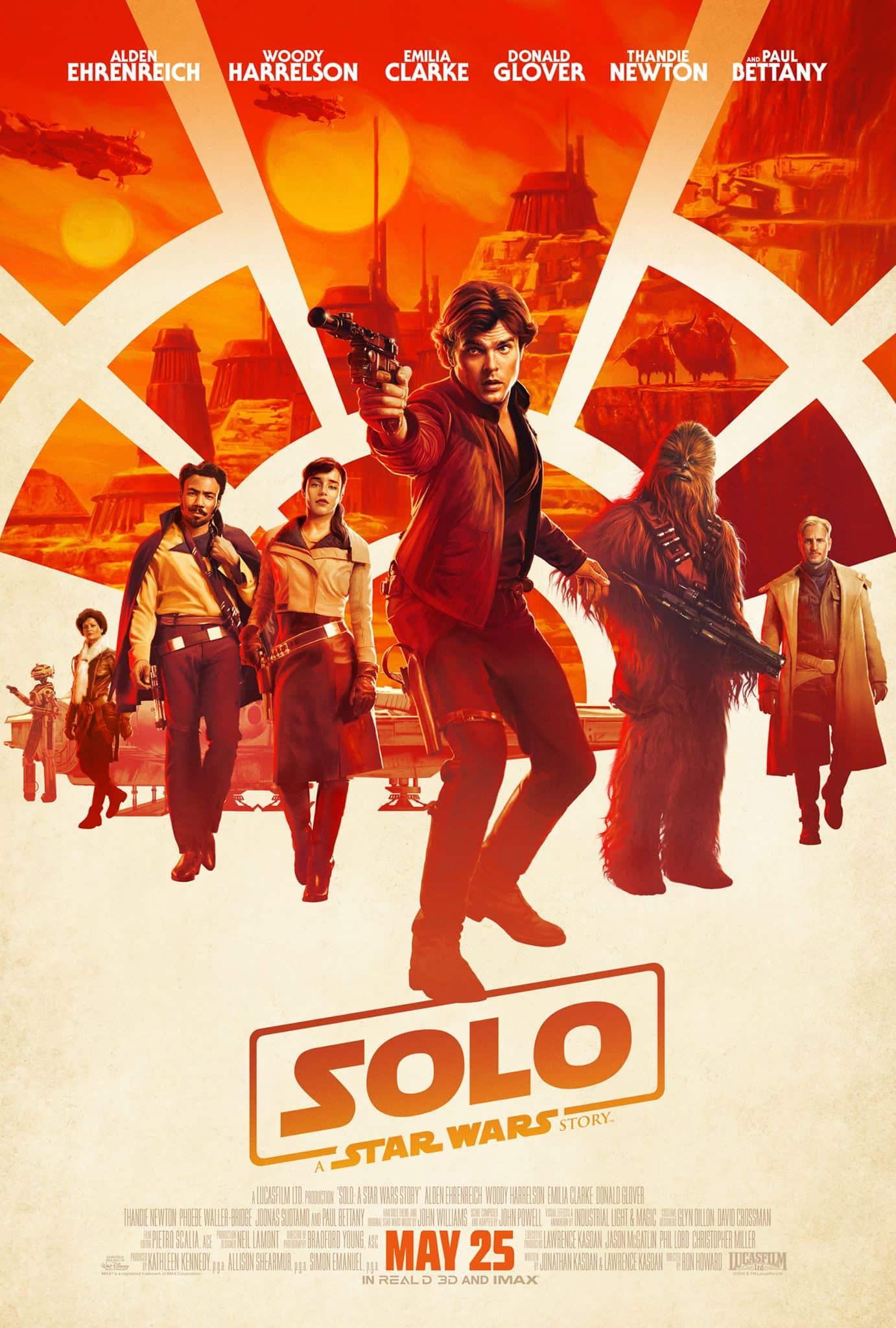 Oficiálny plagát na Solo: A Star Wars Story