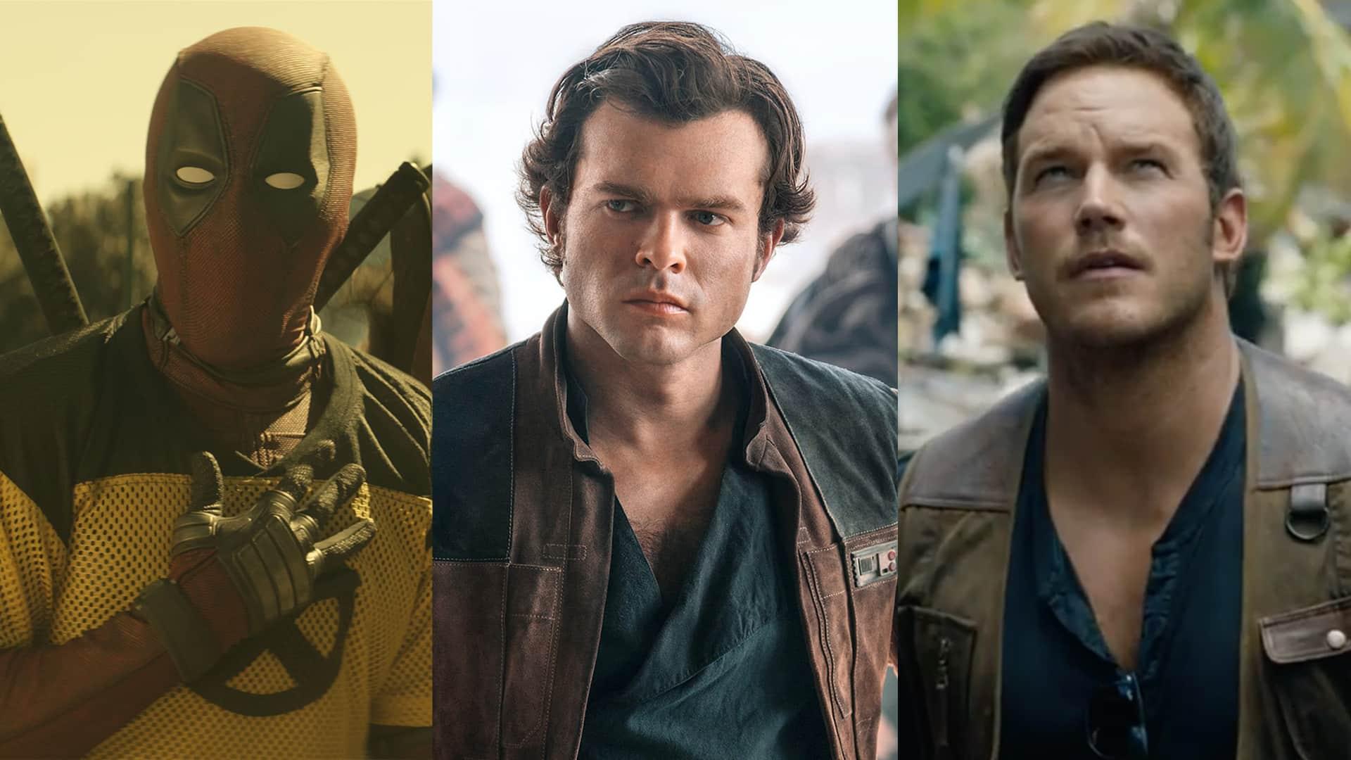 Solo, Jurský Svet: Zánik ríše a Deadpool 2 v šťavnatých 30 sekundových ukážkach!