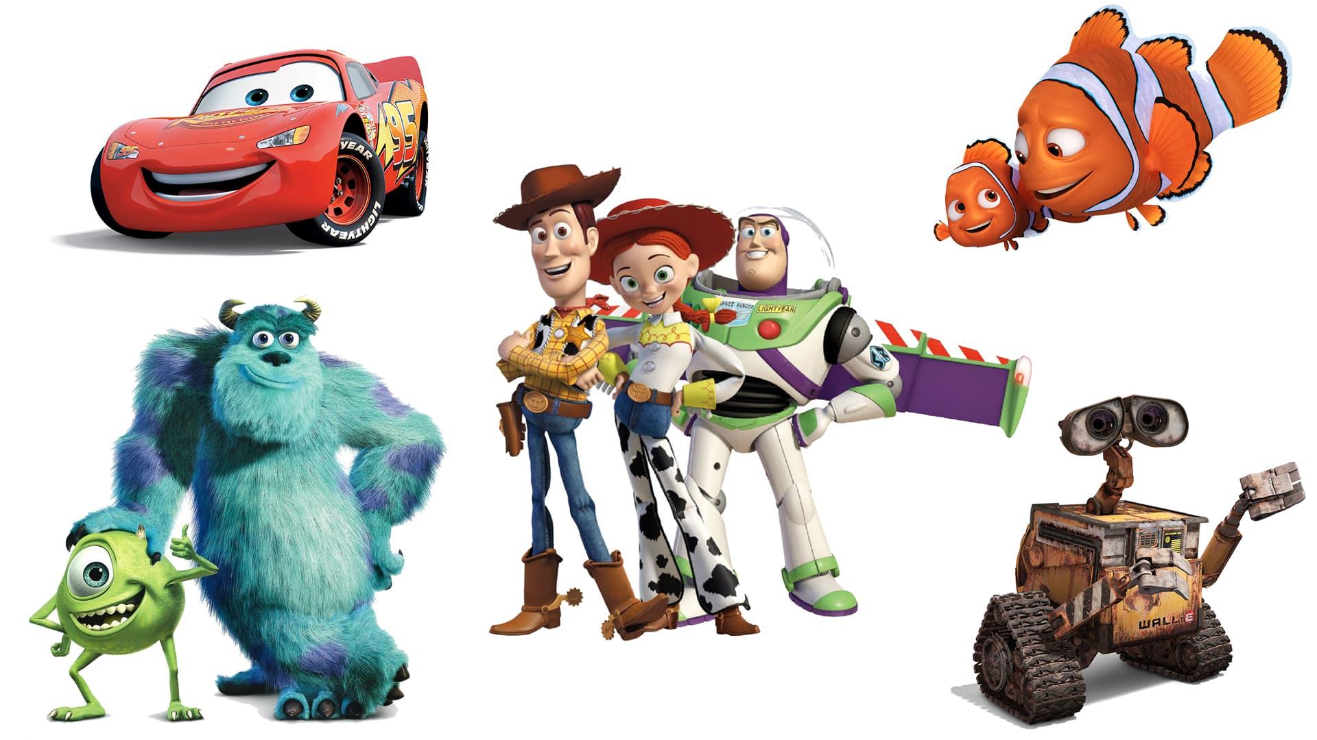 Pixar robí filmy už 23 rokov!