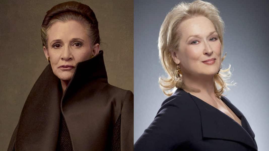 Zahrá si Meryl Streep princeznú Leiu v Star Wars epizóde IX?