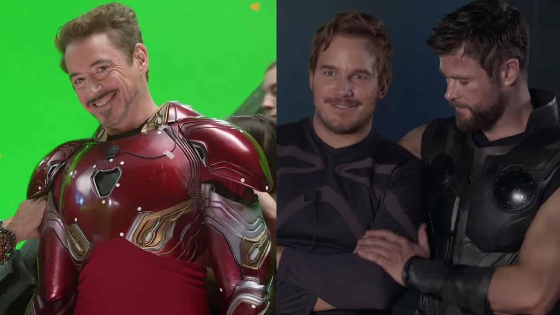 Avengers: Infinity War v novom videu odhaľuje zábery z natáčania