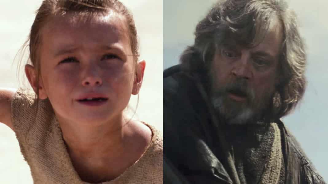 Mark Hamill na svojom Instagrame odhalil, že Rey je dcéra Luka Skywalkera