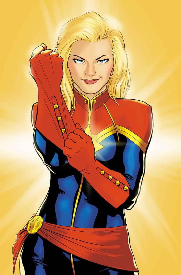 Captain Marvel v komiksoch