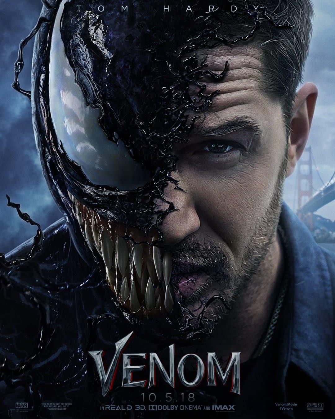 Oficiálny plagát an film Venom