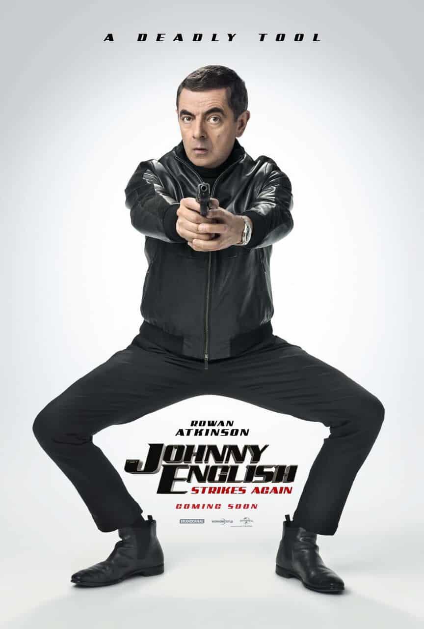 Oficiálny teaser plagát na film Johnny English Strikes Again!