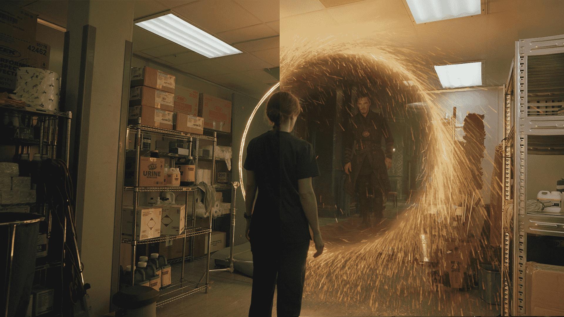 vizuálne efekty filmu doctor strange