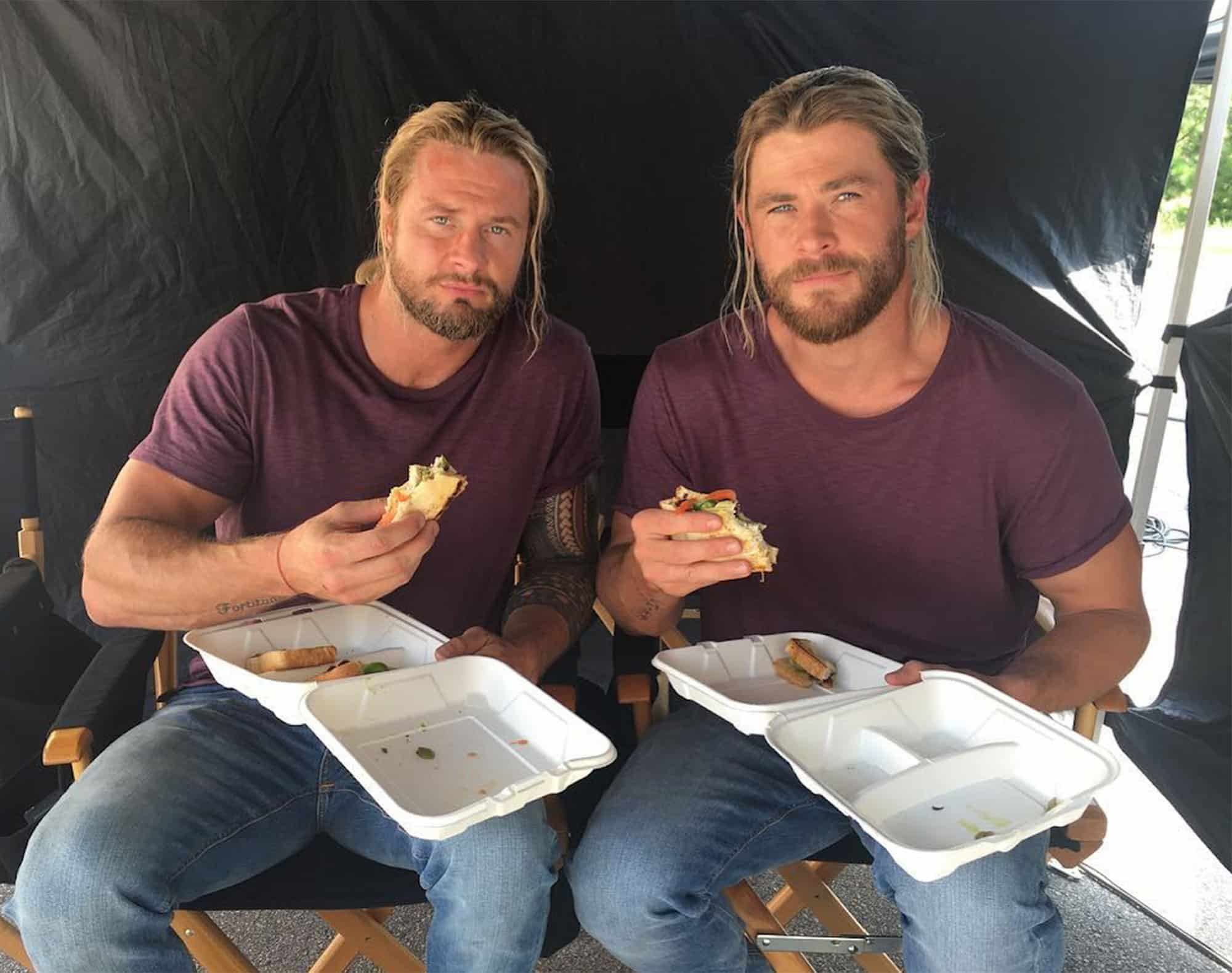Bobby Holland Hanton a Chris Hemsworth