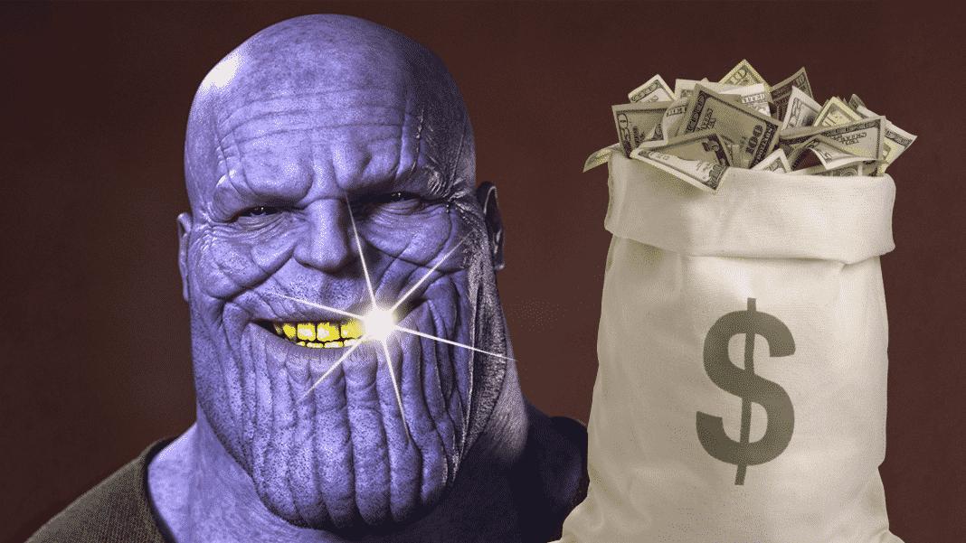 Tržby filmu Avengers: Infinity War