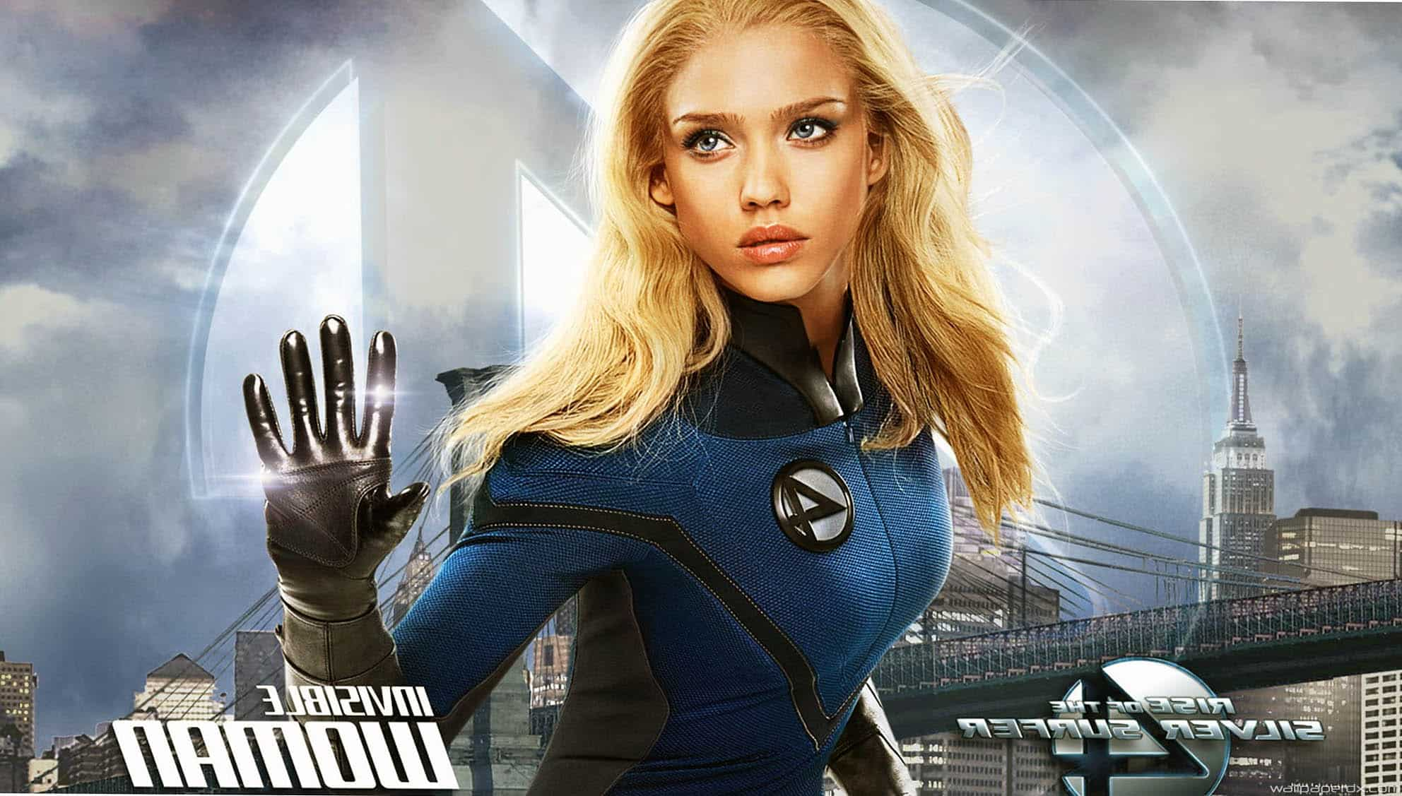 Fantastic 4 rise of the silver surfer invisible woman - Femme invisible 4 fantastiques ...