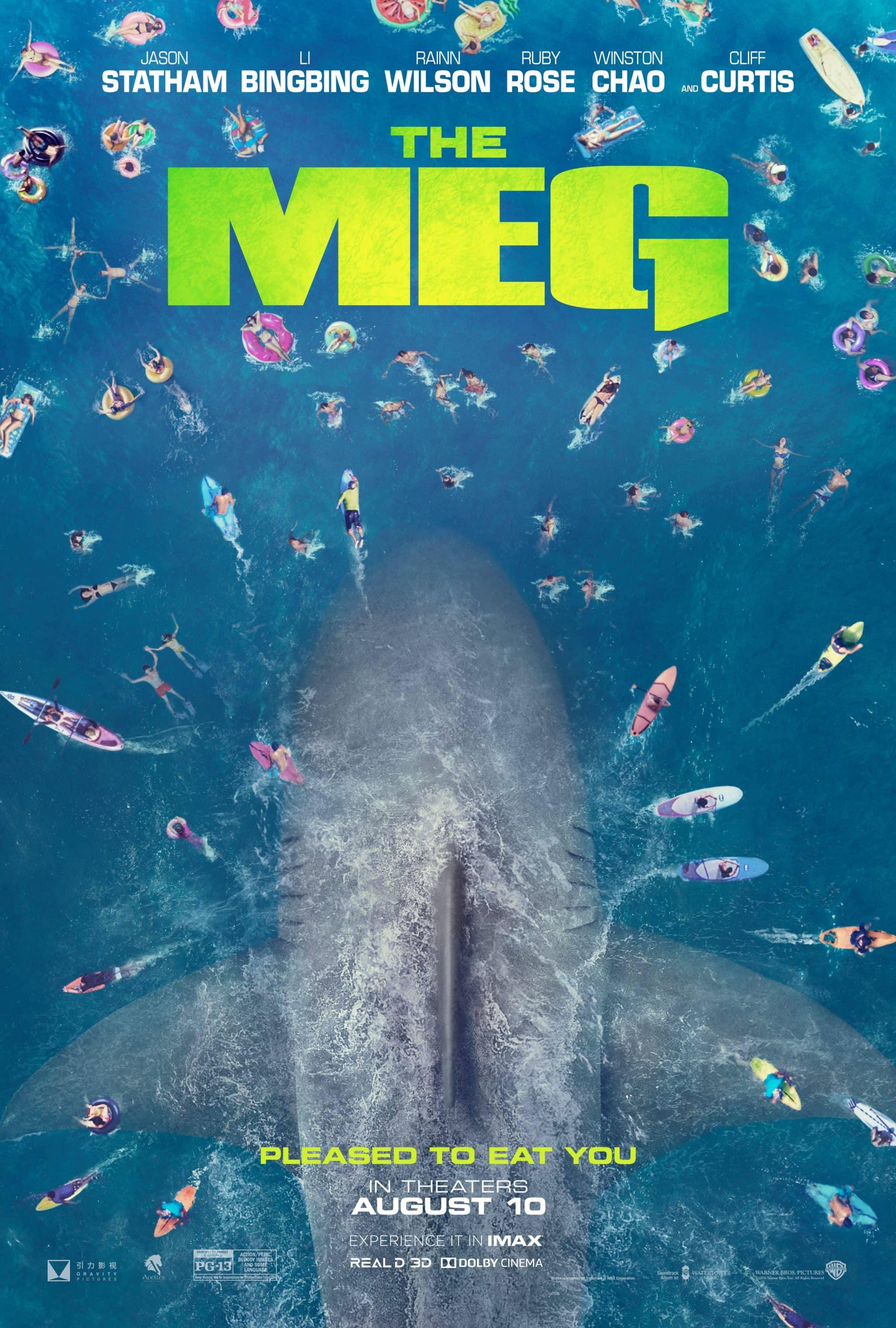Plagát na film The Meg