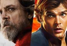 Mark Hamill a Rian Johnson videli film Solo: A Star Wars Story!
