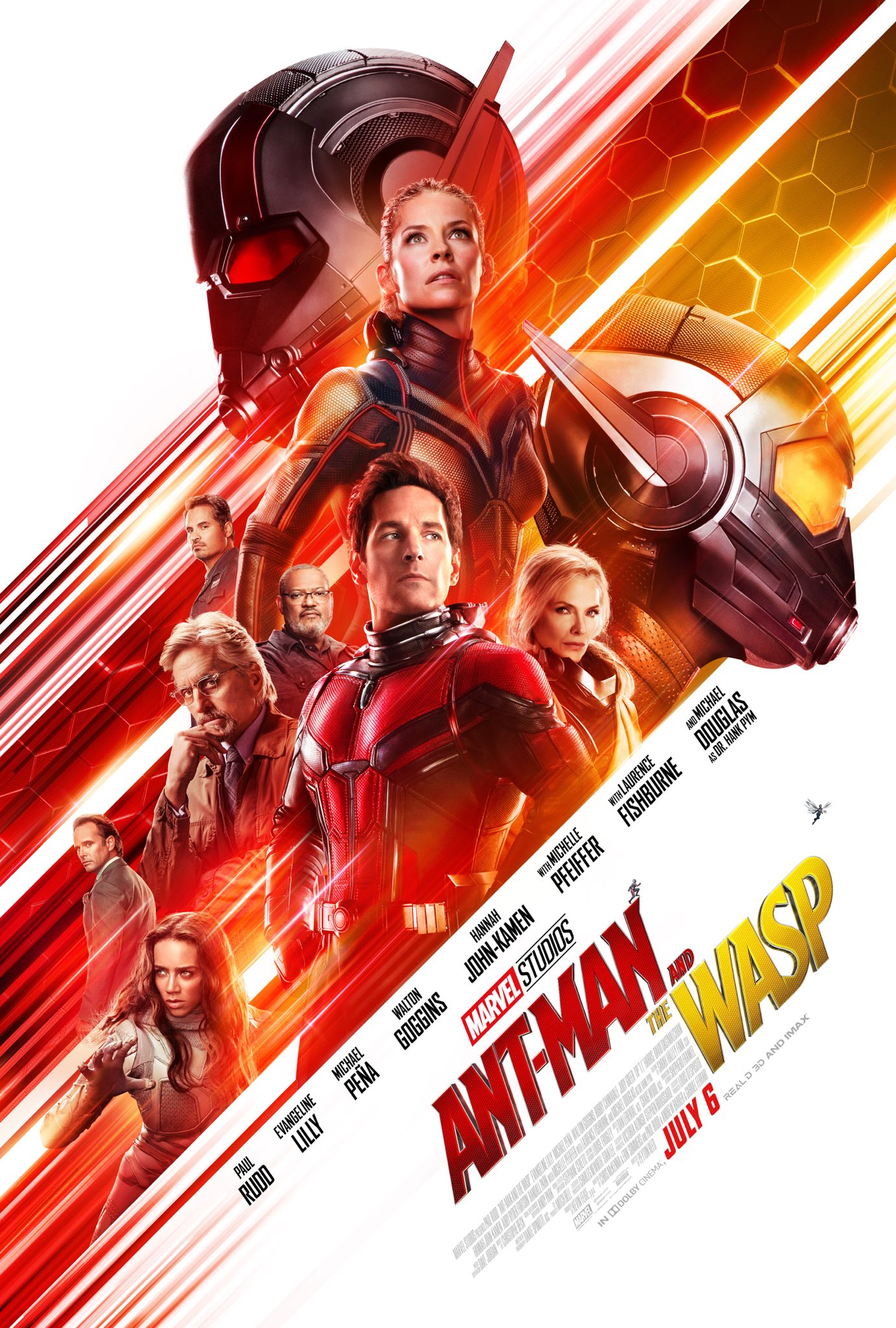 Oficiálny plagát na 20. marvelovku Ant-Man and the Wasp