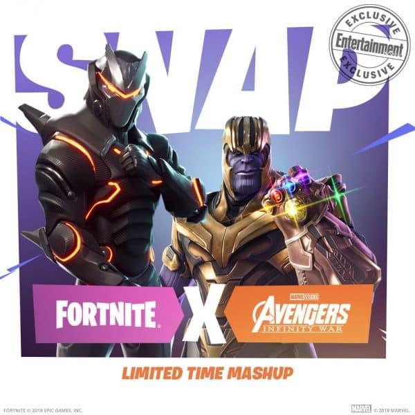 Fortnite a Thanos