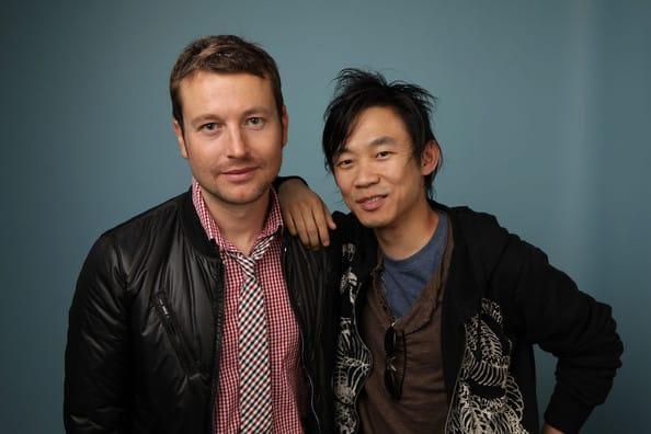 Scenárista Leigh Whannell (vľavo) a režisér James Wan (napravo)