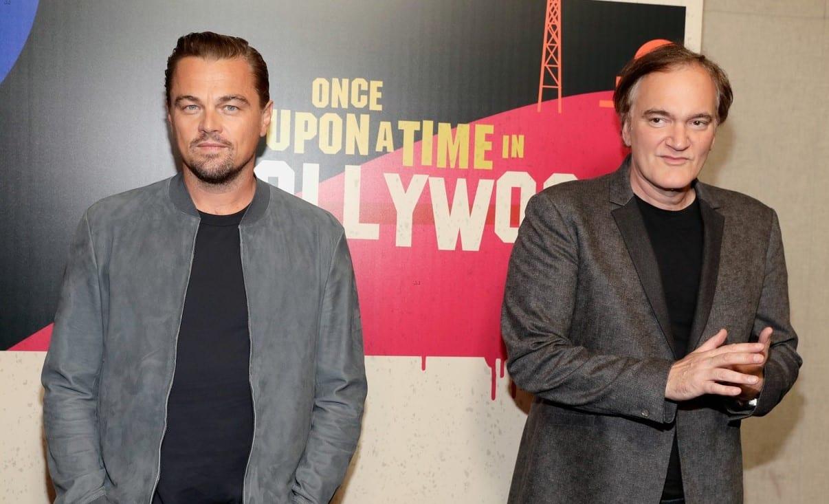 Leonardo DiCaprio a Quentin Tarantino prišli na CinemaCon porozprávať o ich pripravovanej novinke, Once Upon a Time in Hollywood