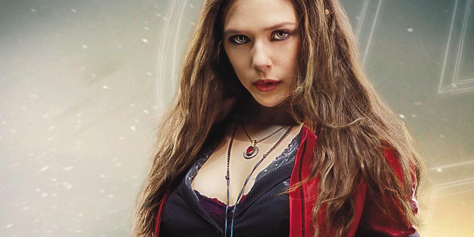 Herečka Elizabeth Olsen scarlet witch