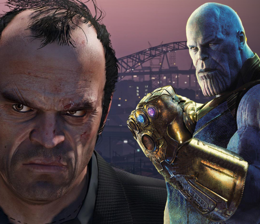 thanos prichádza do GTA V