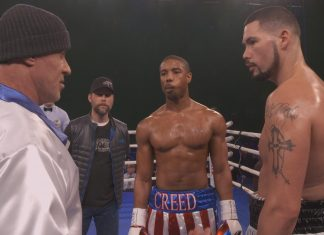 behind the scenes filmu Creed